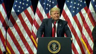 President Trump lavished praise on the new graduates