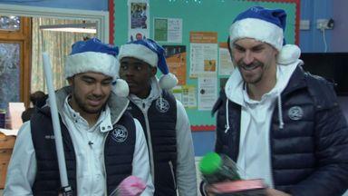 QPR spread Christmas cheer