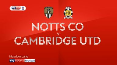 Notts County 3-3 Cambridge Utd