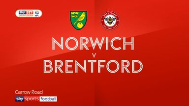 Norwich 1-2 Brentford