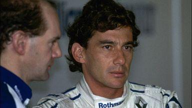 Newey reflects on Senna loss