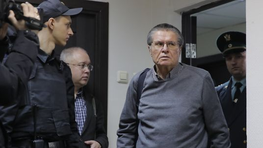 Russia's Alexey Ulyukayev could face up to 10 years in prison on bribery charges