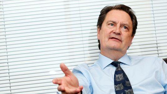 David Green, director of the Serious Fraud Office (SFO), during an interview with Reuters in London November 15, 2012.