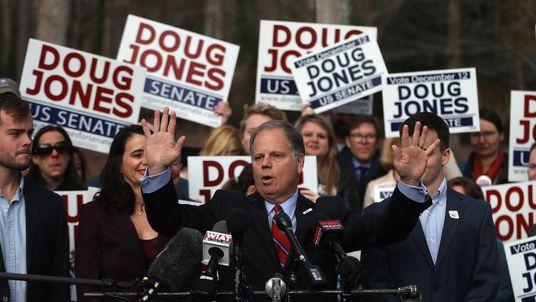 Doug Jones' win will trim the Republican majority in the US Senate
