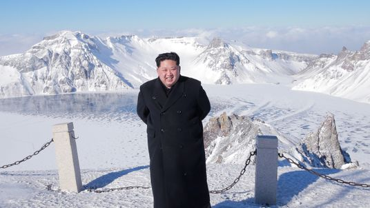 The leader made a visit after the launch of the ICBM