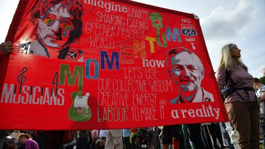 Momentum banner
