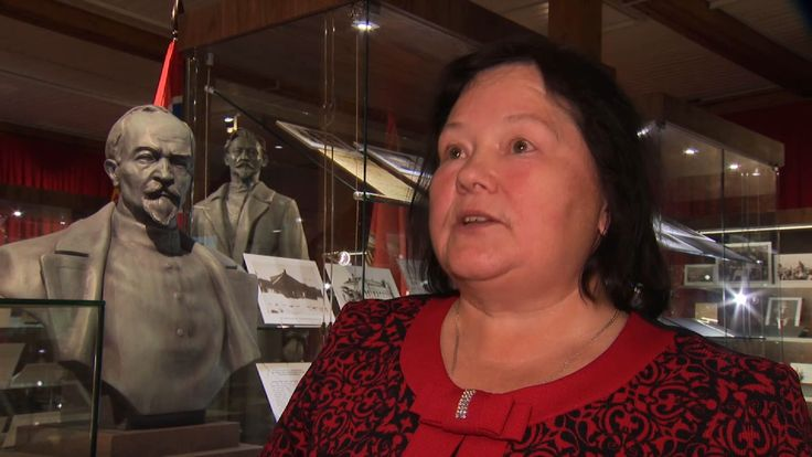 Tatyana Kopchikova told Sky News about he she taught children about KGB founder Felix Dzerzhinsky