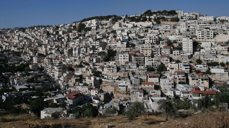 The neighbourhood of Silwan suffers from high levels of poverty and unemployment