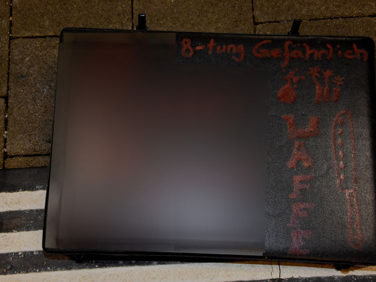 ST GALLEN TRAIN CHEF CASE - POLICE