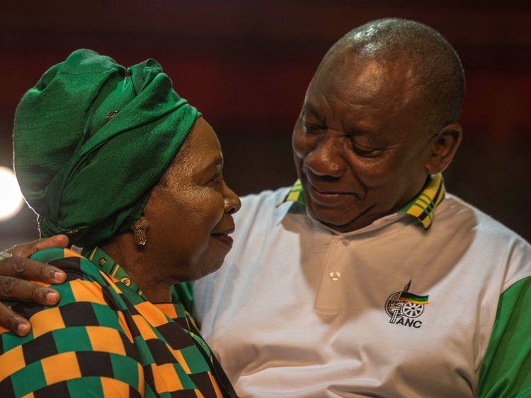 Cyril Ramaphosa narrowly beat Nkosazana Dlamini-Zuma in a delegate vote