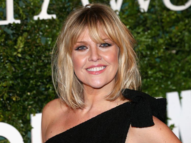 Ashley Jensen 'devastated' after husband's death