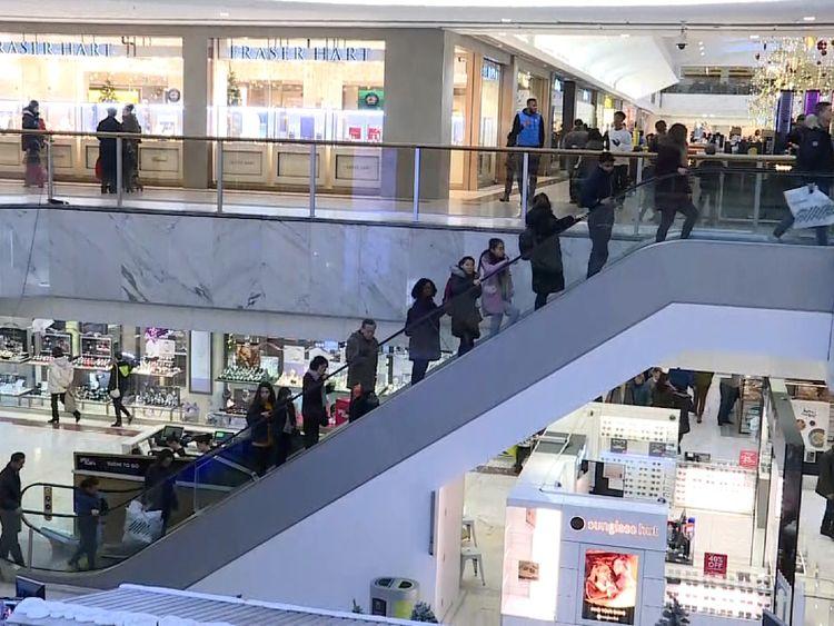 Brent Cross shopping centre December 2017