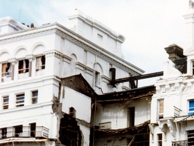 The IRA targeted a Brighton hotel where Margaret Thatcher was staying