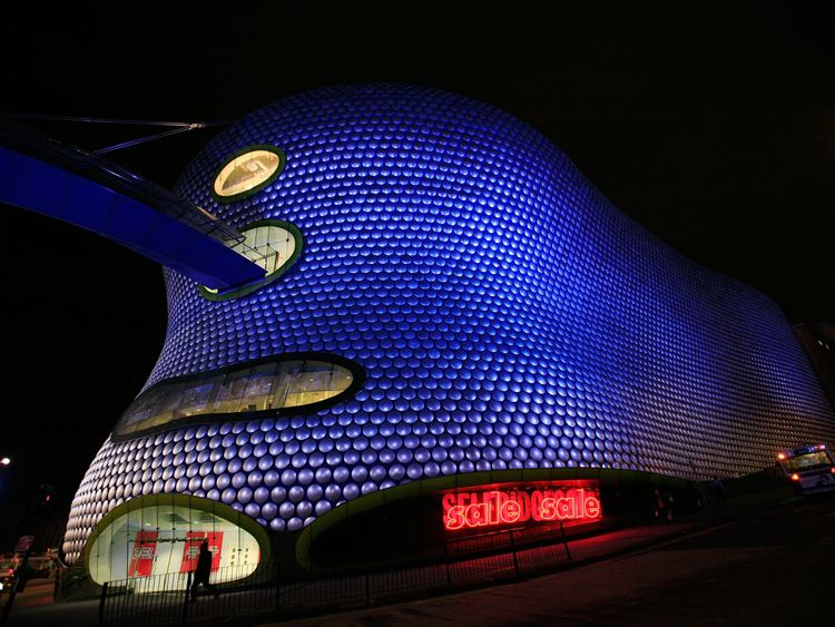 Hammerson's shopping centres include Birmingham's BullRing
