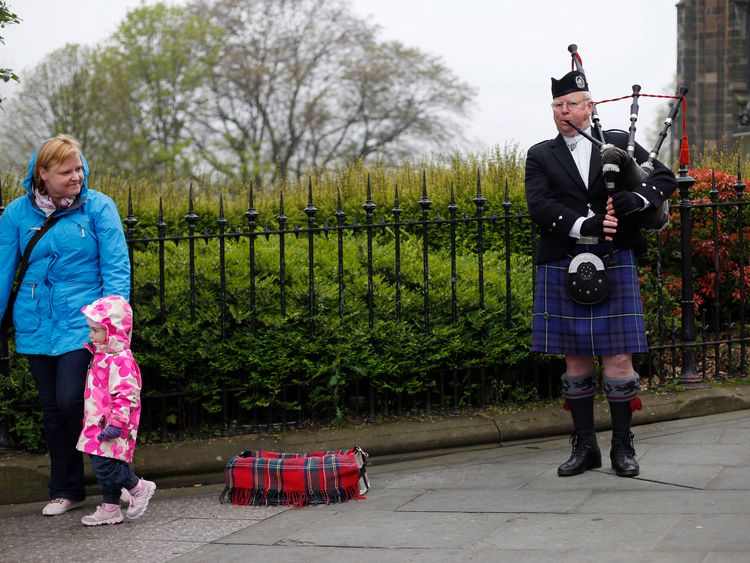 Buskers have been fined for being anti-social