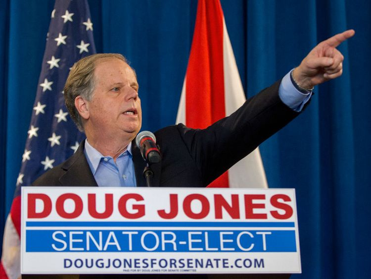 Doug Jones won the race for Alabama nearly two weeks ago