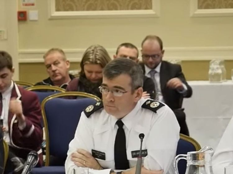 PSNI Deputy Chief Constable Drew Harris