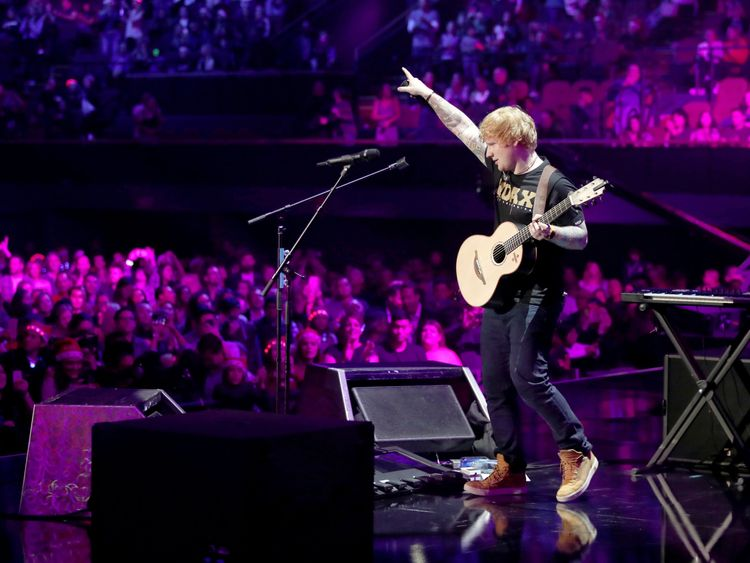(EDITORIAL USE ONLY. NO COMMERCIAL USE)  performs onstage during 102.7 KIIS FM's Jingle Ball 2017 presented by Capital One at The Forum on December 1, 2017 in Inglewood, California.