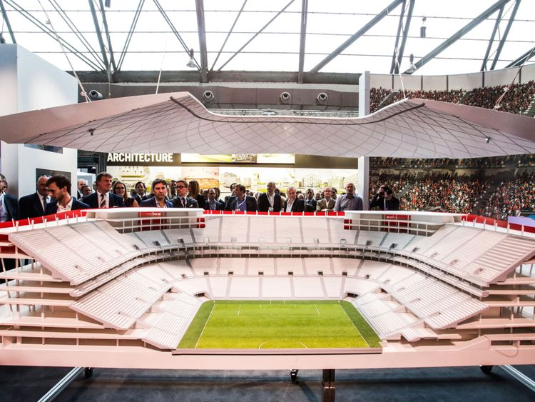 The Eurostadium in Brussels is yet to be granted planning permission