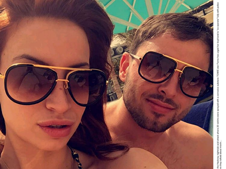 Ferne McCann and Arthur Collins. File pic