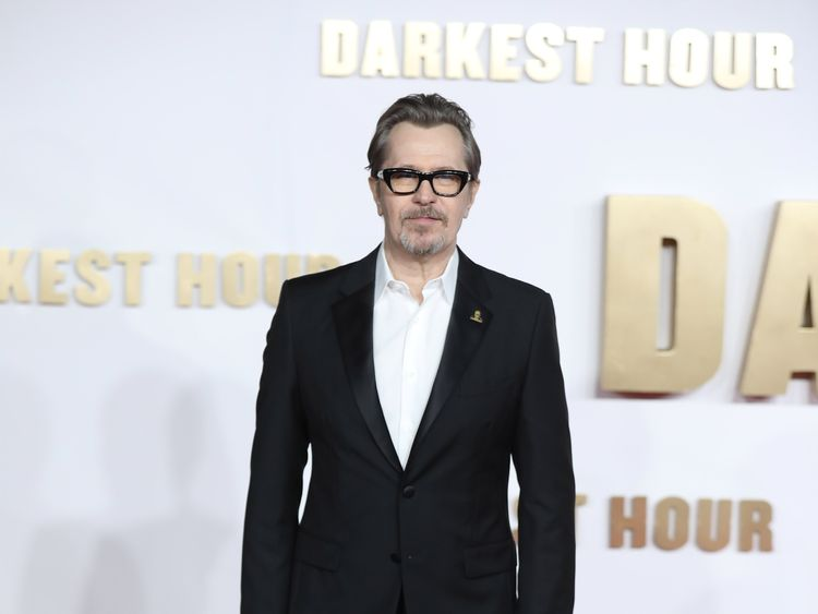attends the 'Darkest hour' UK premeire at Odeon Leicester Square on December 11, 2017 in London, England.
