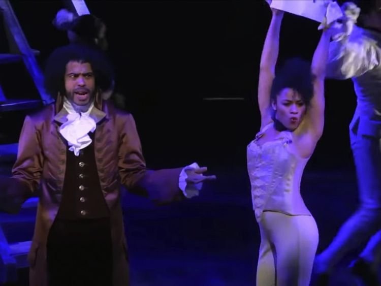 'Hip hop masterpiece' Hamilton comes to London