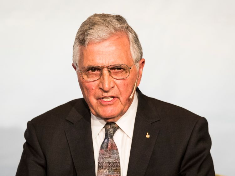 Harrison Schmitt, known as Jack, is the last living crew member of Apollo 17