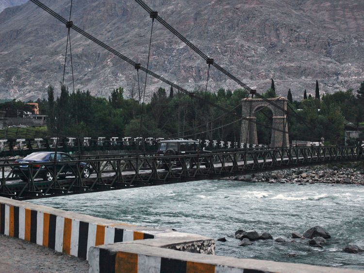 The Indus is Pakistan's longest river