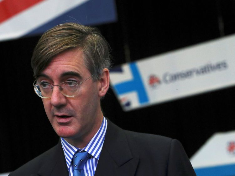 Jacob Rees-Mogg has criticised the implementation period plans