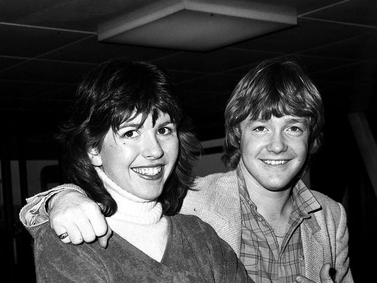 Keith Chegwin and Maggie Philbin in 1980
