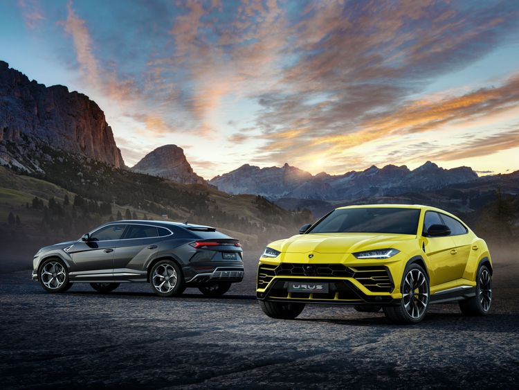 The Lamborghini Urus. Pic: Lamborghini