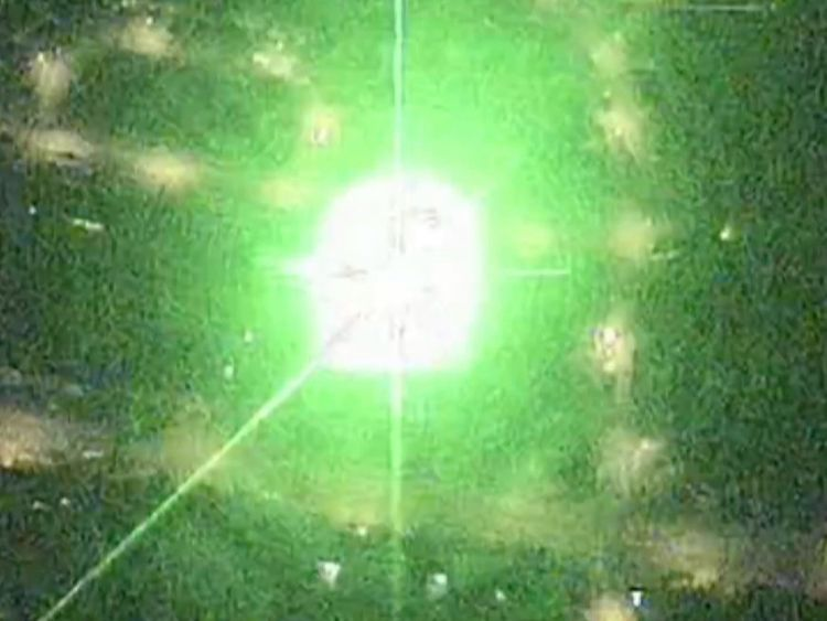 Ministers have warned laser misuse can have 'fatal consequences'
