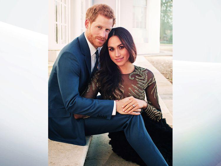 Prince Harry and Meghan Markle. Pic: Alexi Lubomirski