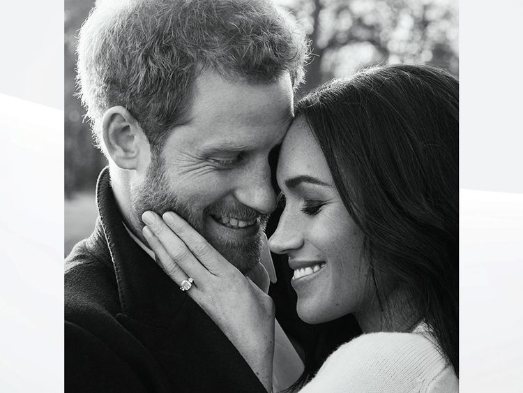 Prince Harry and Meghan Markle. Pic: Alexi Lubomirski