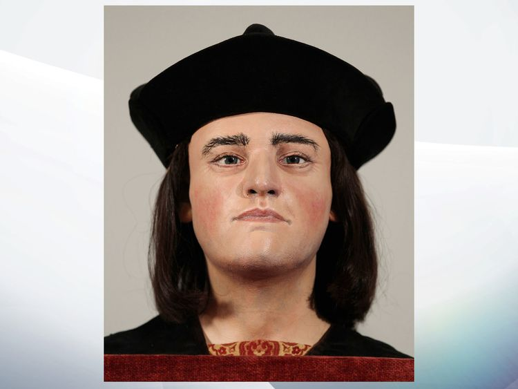 Richard III was killed at the Battle of Bosworth in 1485