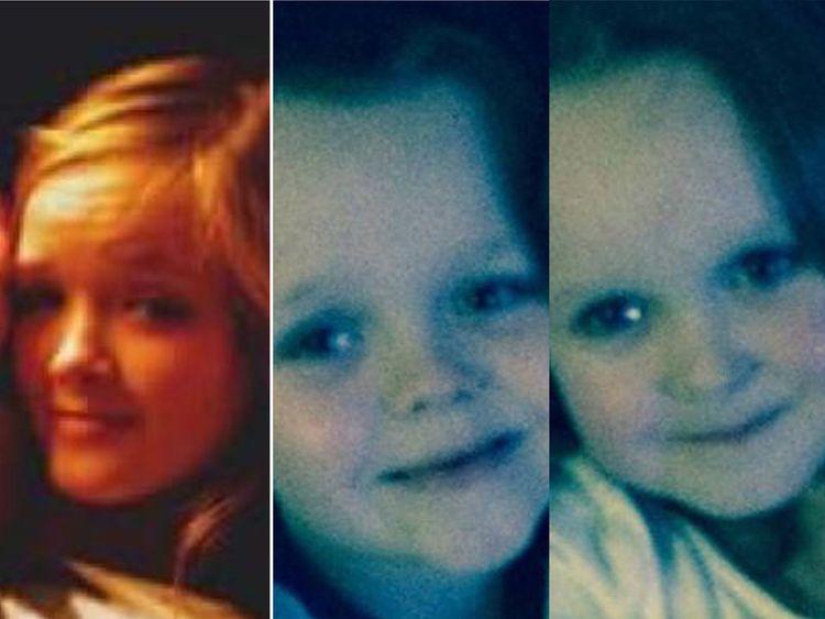 Demi, 14, Brandon, 8, and Lacie, 7, were all killed in the fire. Pics. Facebook