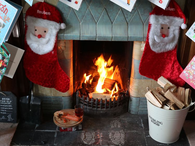 "Santa has been warned over his health with claims of ""binge drinking"" of sherry."