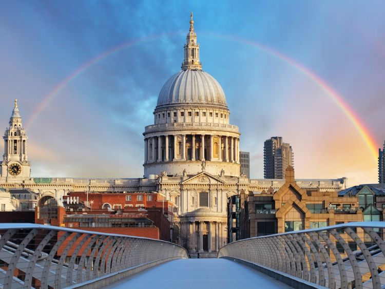 The memorial will be held at St Paul's Cathedral