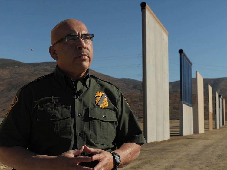 Trump tests eight 30ft high border walls