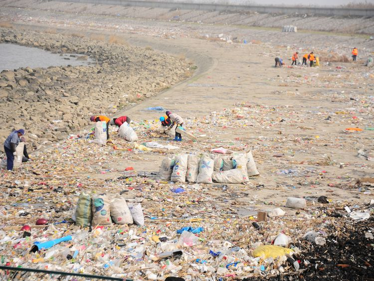 Research suggests more plastic enters the sea from the Yangtze River than from any other