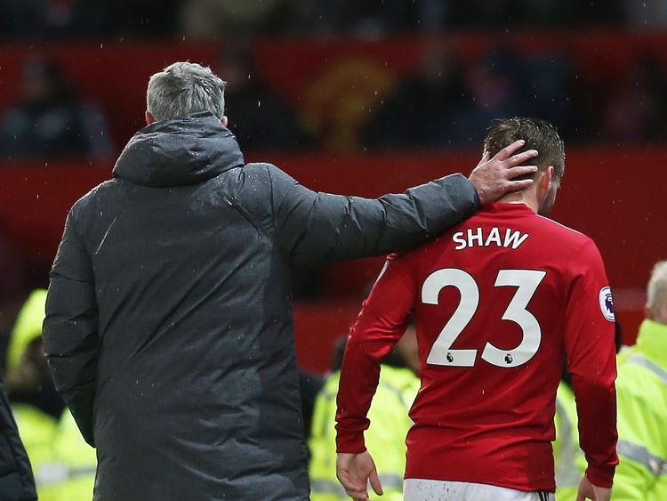 Image result for luke shaw subbed off