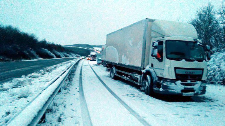UK snow winter weather