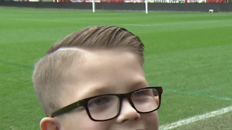 Jayden Neale says he hopes to score for Bristol City one day after celebrating their win over Man United with the City manager!