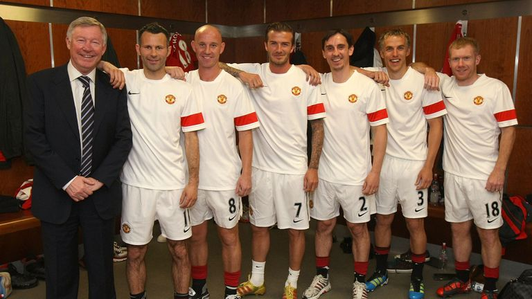 The Class of 92 are re-united