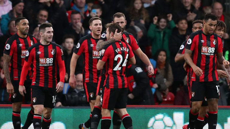 Bournemouth beats Everton to end winless run