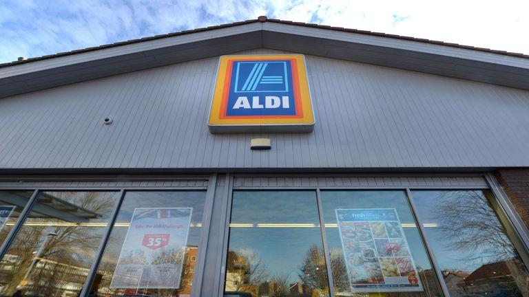 Generic file photo of Aldi supermarket
