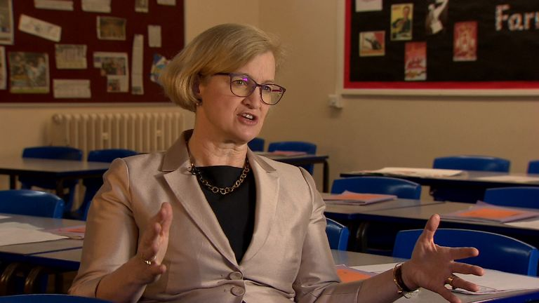 Chief schools inspector Amanda Spielman said it was time to make a change