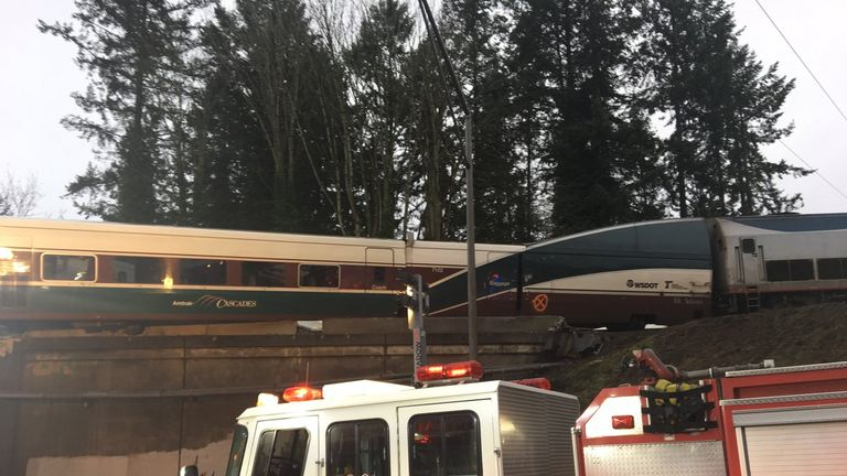 A train passenger explained the track had recently been upgraded. Pic: Piercesheriff