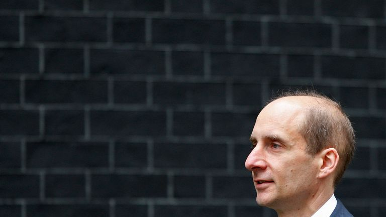 Andrew Adonis, pictured when he was Transport Secretary in 2009
