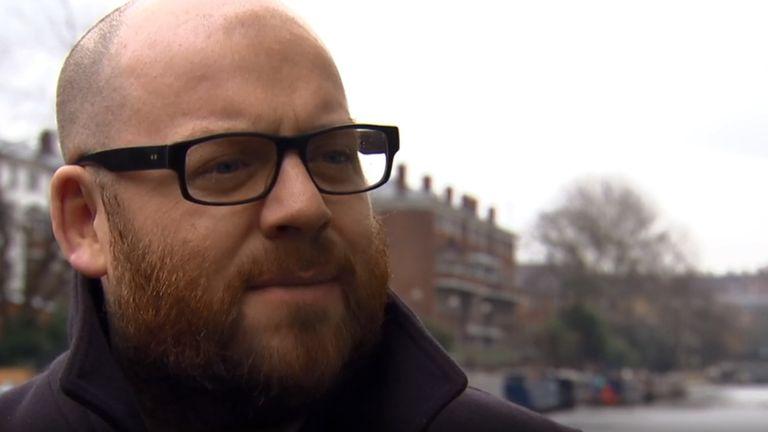 Music journalist Andy Welch